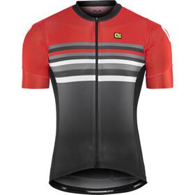 Alé Cycling Formula 1.0 Stripe Bike Jersey Shortsleeve Men red/black